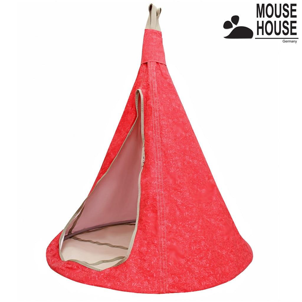 Гамак MOUSE HOUSE Цветы красные (большой)