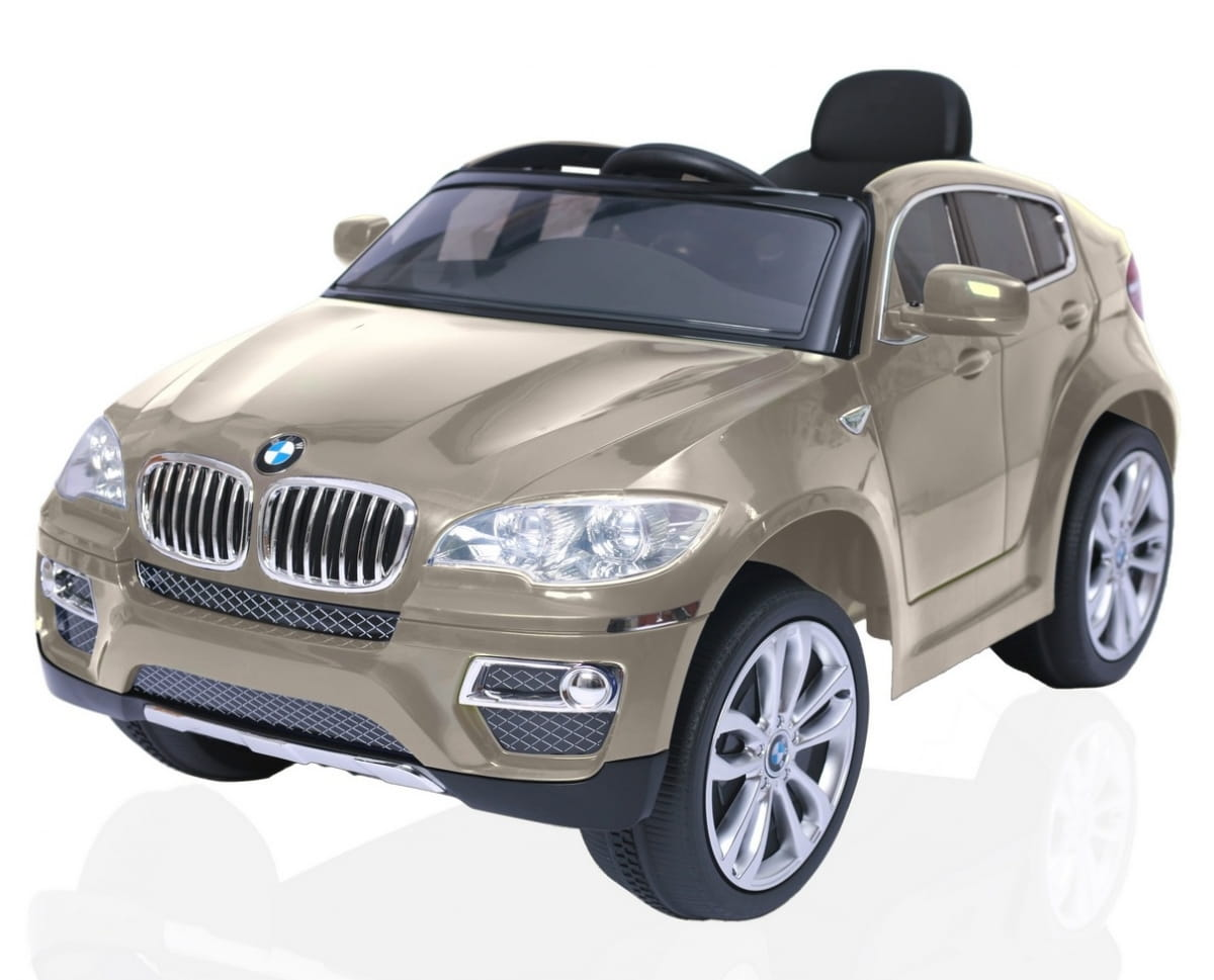 Электромобиль RT BMW X6 - champagne