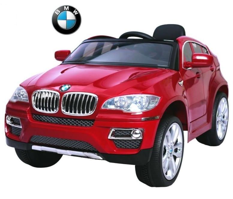 Электромобиль RT BMW X6 - red metallic