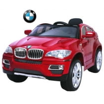 Фото Электромобиль RT BMW X6 - red metallic