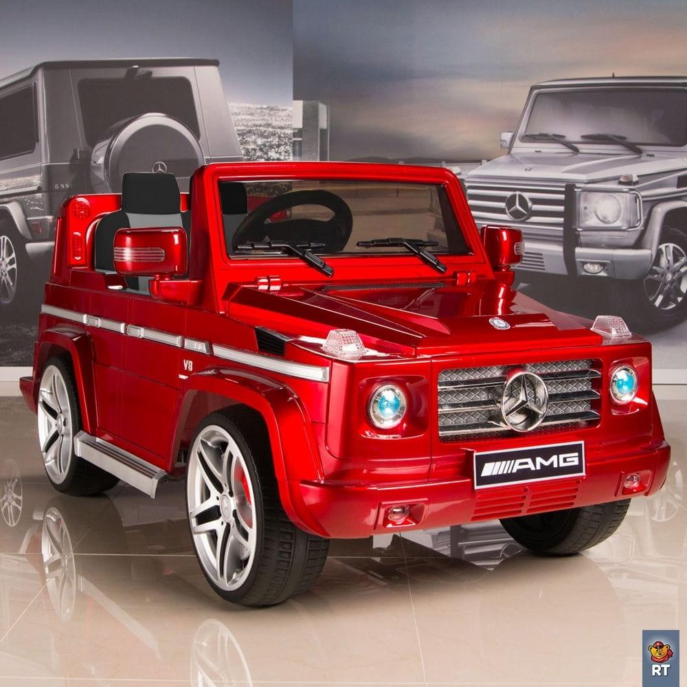 Электромобиль RT Mercedes-Benz AMG New - red
