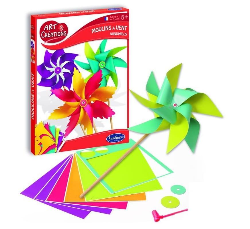 Набор для творчества SentoSphere Ветрячки из бумаги
