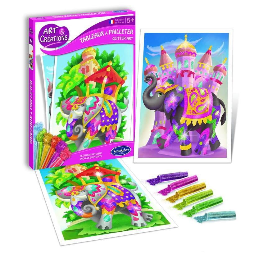 Набор для творчества SentoSphere Создай картину - Слоны