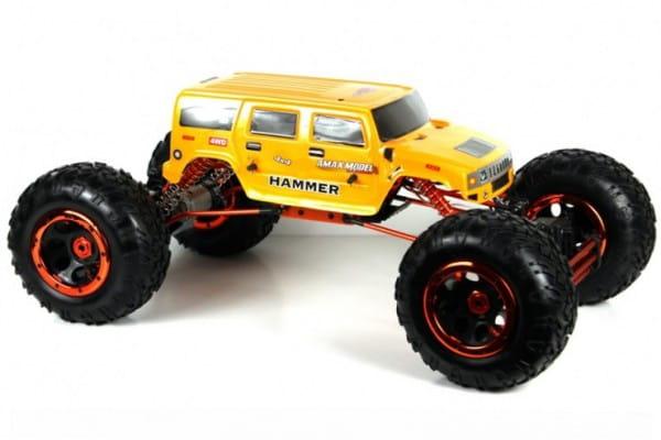 Купить Радиоуправляемый краулер HSP Climber Electric Crawler 4WD 1:8 в интернет магазине игрушек и детских товаров