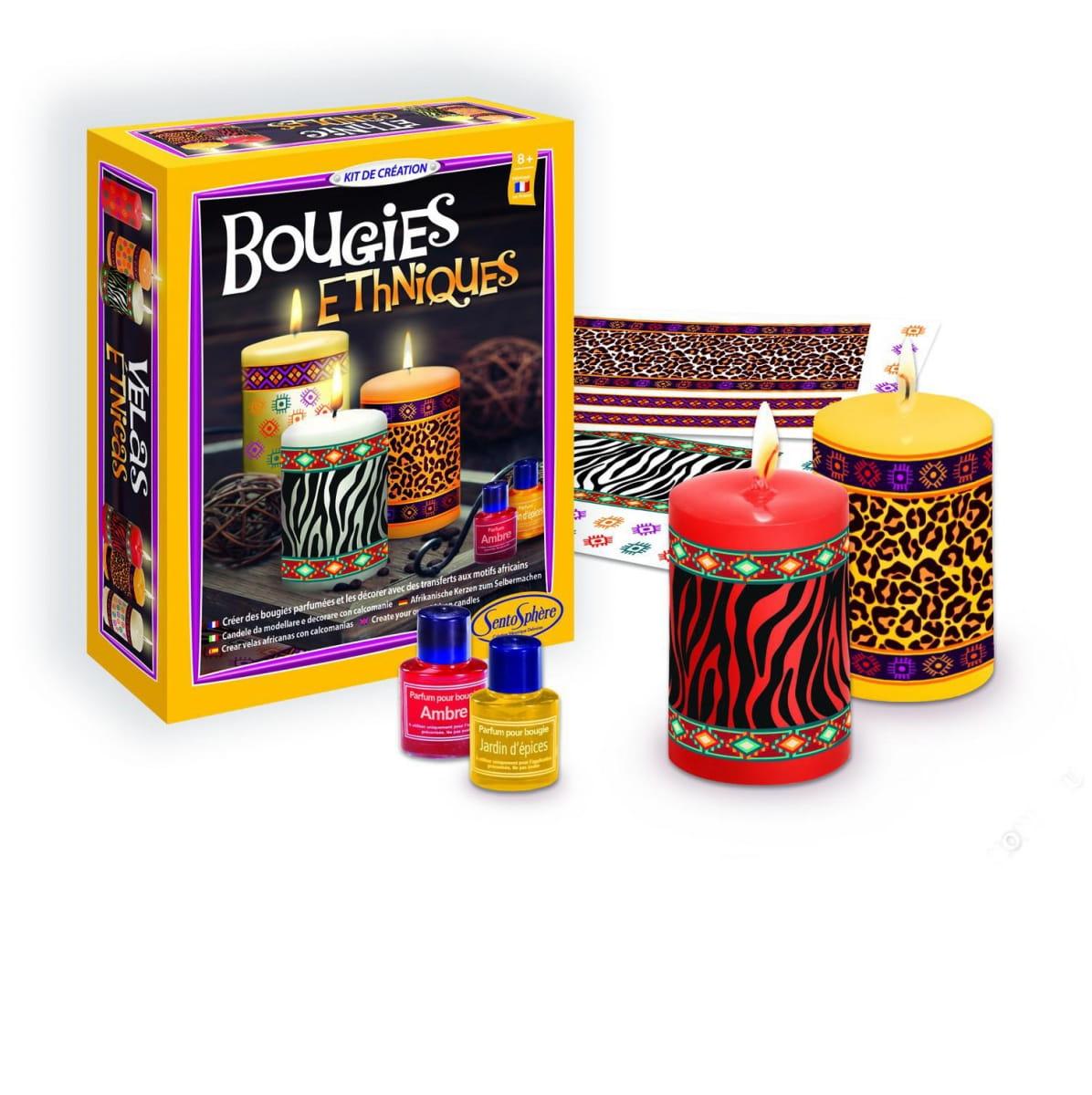 Набор для изготовления свечей SentoSphere Этнические свечи