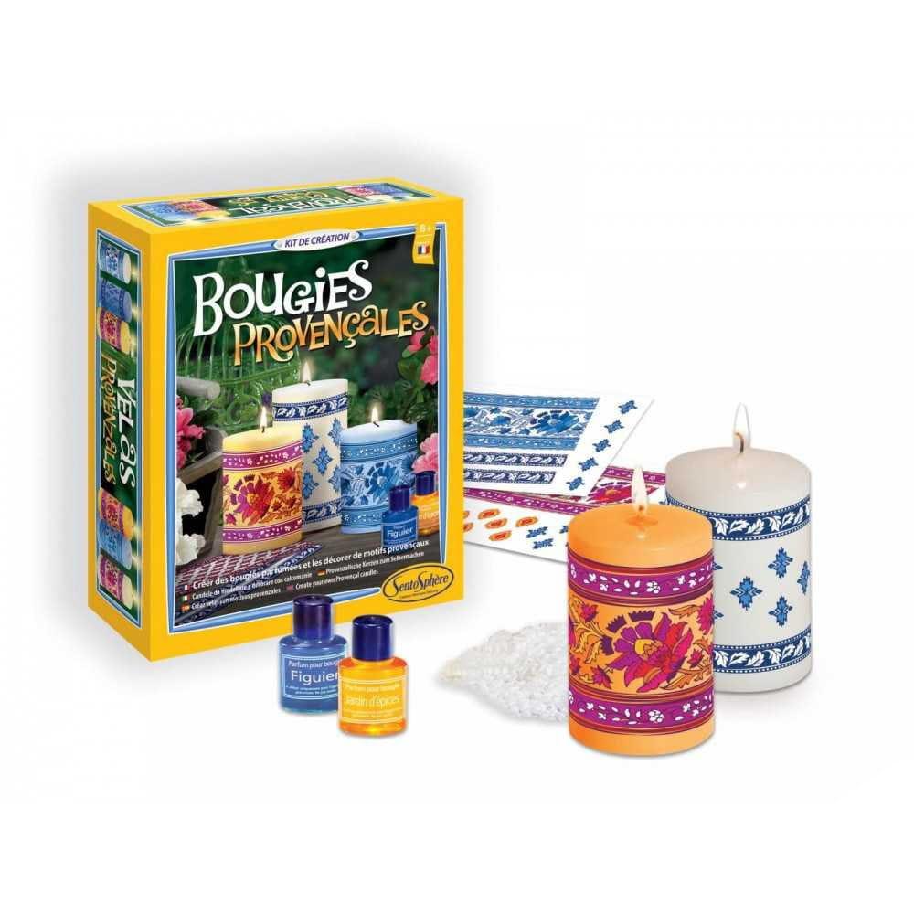 Набор для изготовления свечей SentoSphere Провансальские свечи