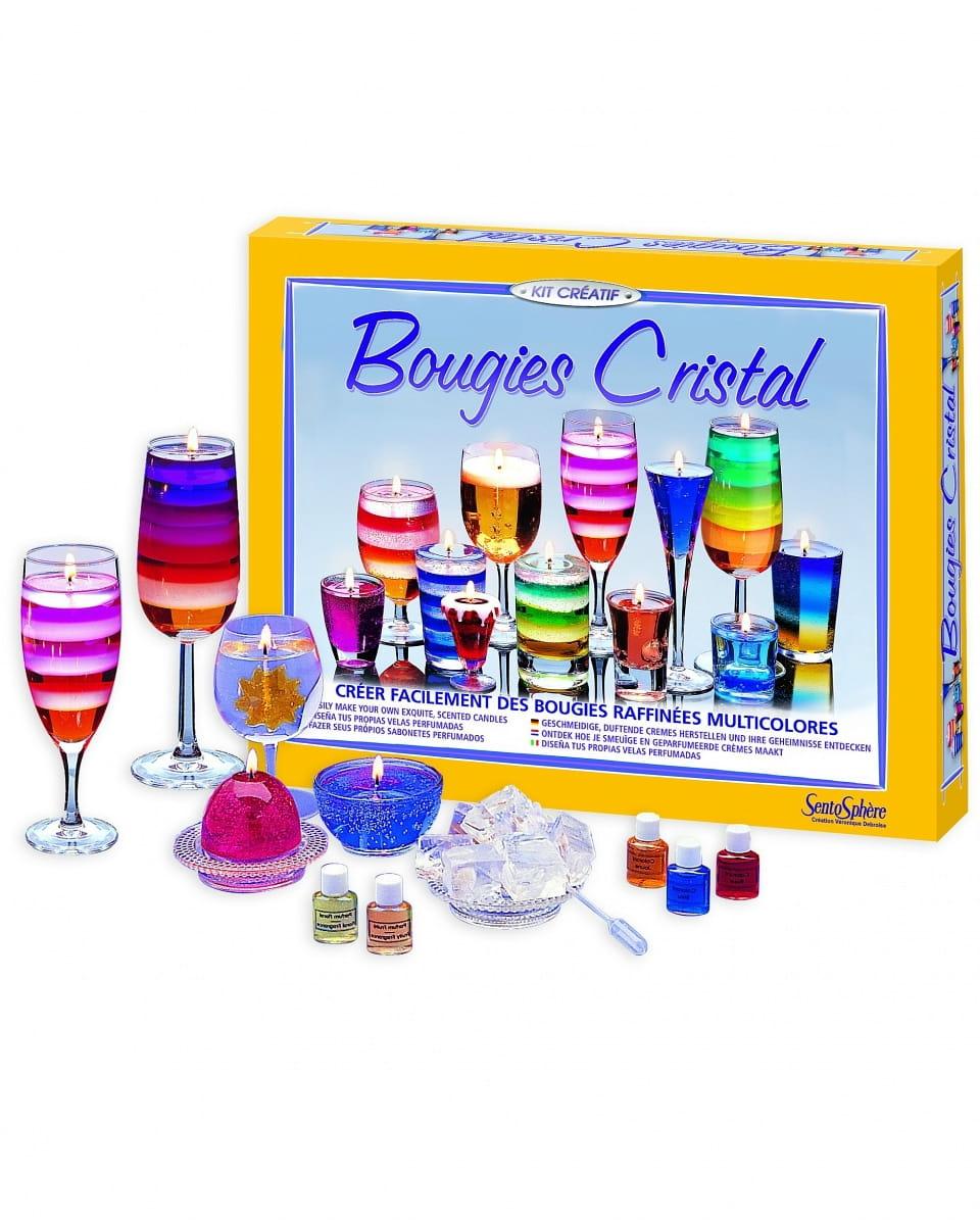 Набор для изготовления свечей SentoSphere Кристалл