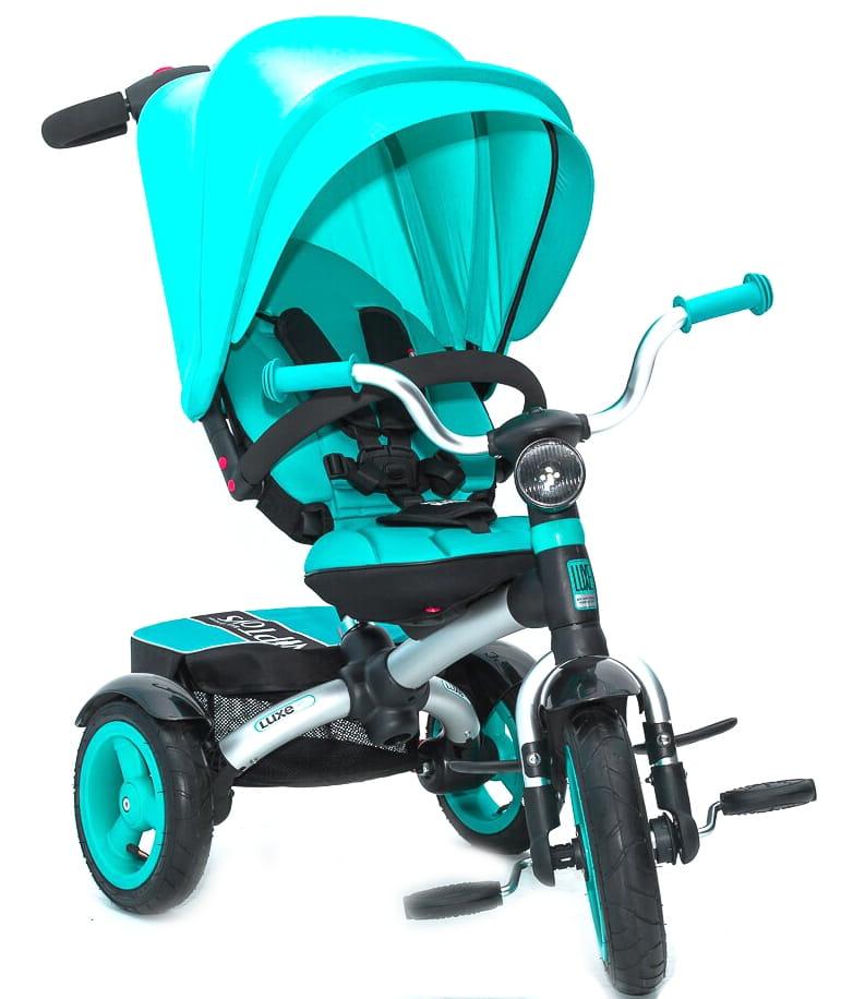 Трехколесный велосипед VIP TOYS Trike Luxe  blue - Велосипеды