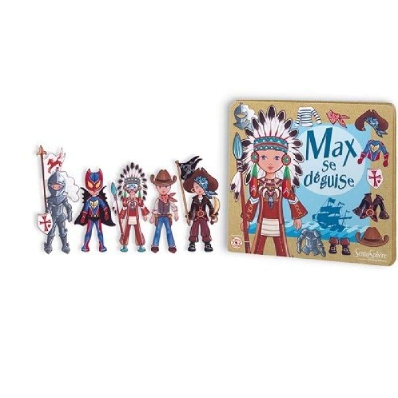 Магнитная настольная игра SentoSphere Макс на маскараде