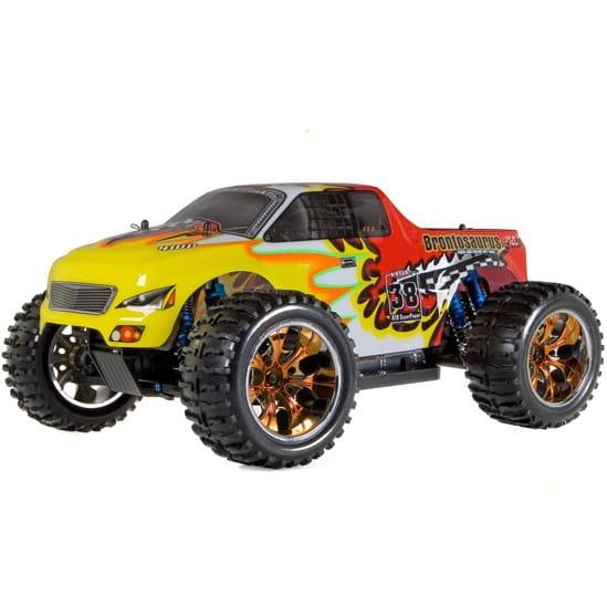 Купить Радиоуправляемый монстр HSP Brontosaurus Pro RTF 1:10 в интернет магазине игрушек и детских товаров