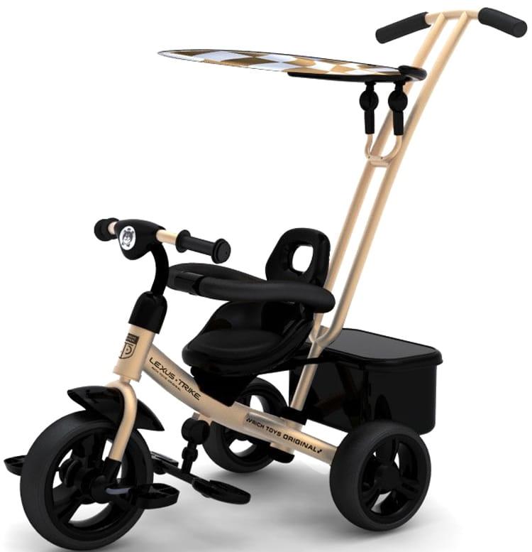 Трехколесный велосипед Lexus Trike Next Sport  бронзовый - Велосипеды