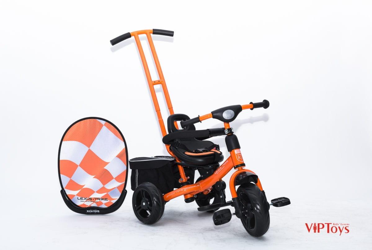 Трехколесный велосипед Lexus Trike Next_оранжевый Next Sport - оранжевый