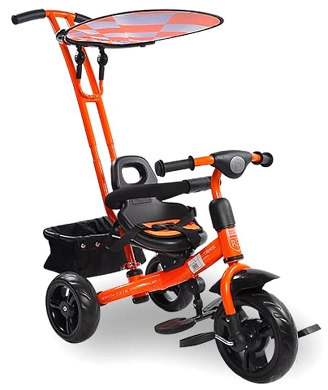 Трехколесный велосипед Lexus Trike Next Sport  оранжевый - Велосипеды