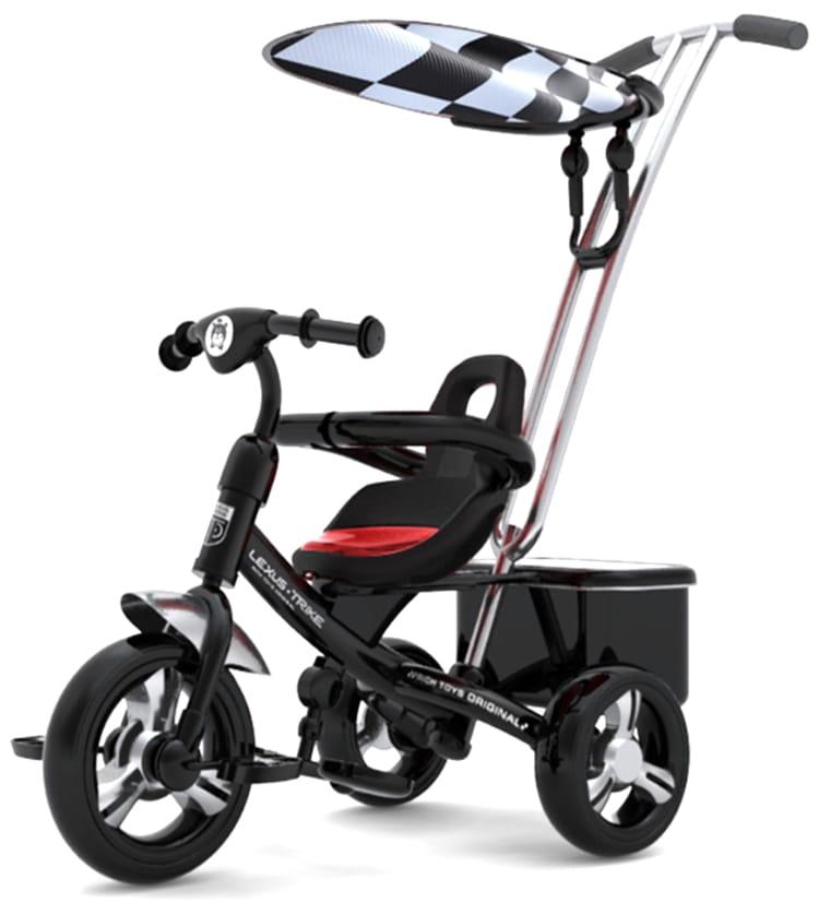 Трехколесный велосипед Lexus Trike Next Sport  черный - Велосипеды