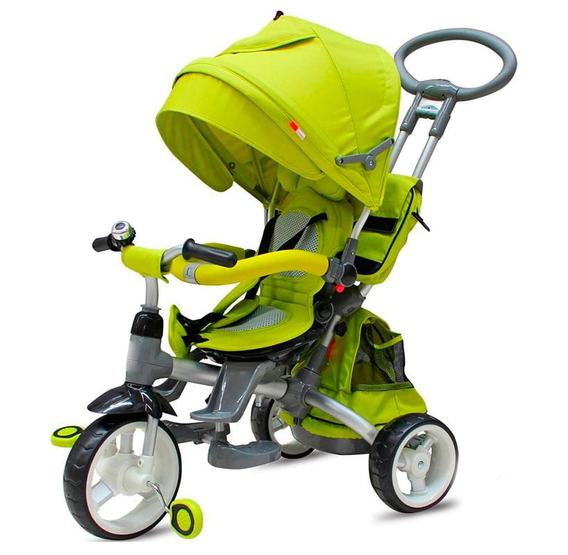 Трехколесный велосипед VIP Toys T-500  зеленый - Велосипеды