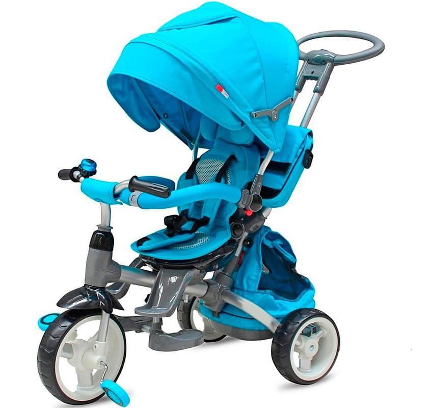 Трехколесный велосипед VIP Toys T-500  синий - Велосипеды