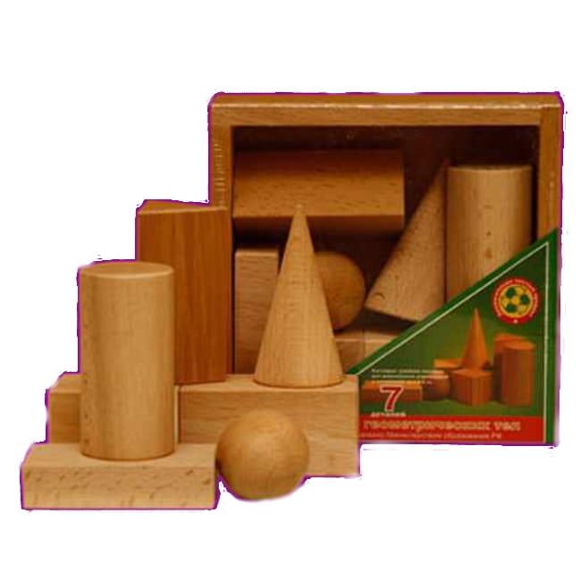 Конструктор Престиж-игрушка К2121 Геометрические тела (7 деталей)