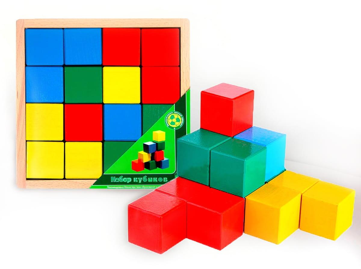 Кубики Престиж-игрушка АЦ2200 Цветные