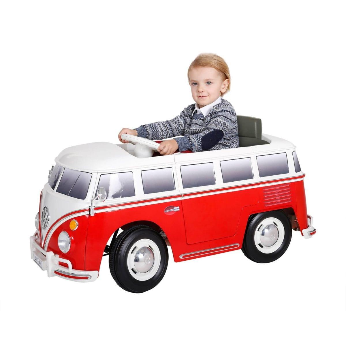 Электромобиль VIP Toys W487 Микроавтобус Volkswagen