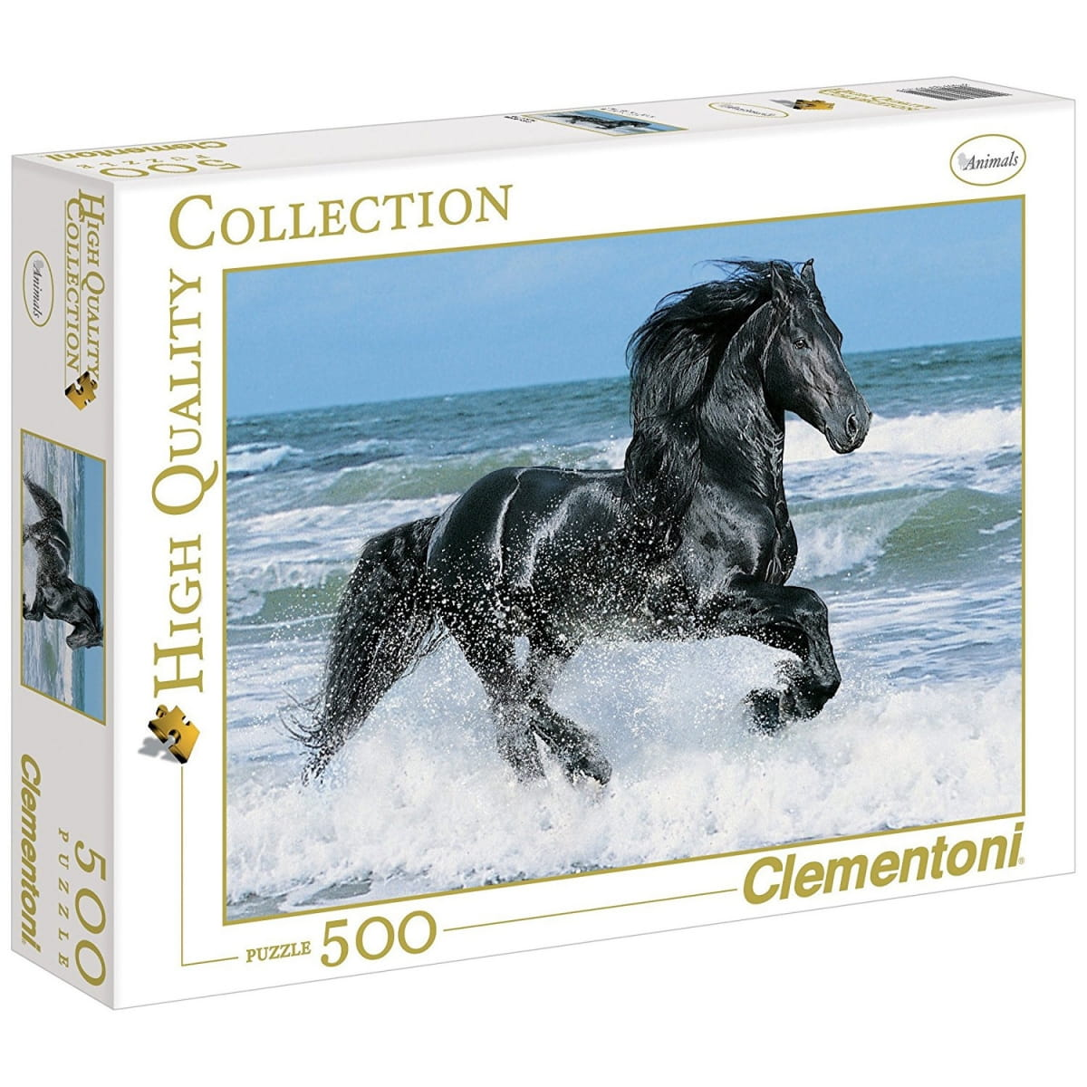 Пазл Clementoni 30175 Вороной конь в море - 500 элементов