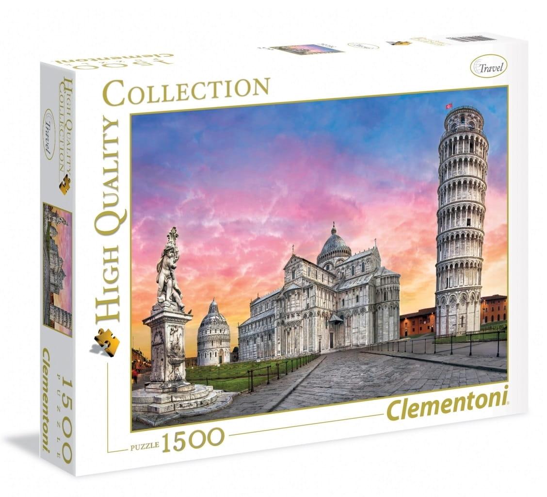 Пазл Clementoni 31674 Пизанская башня - 1500 элементов