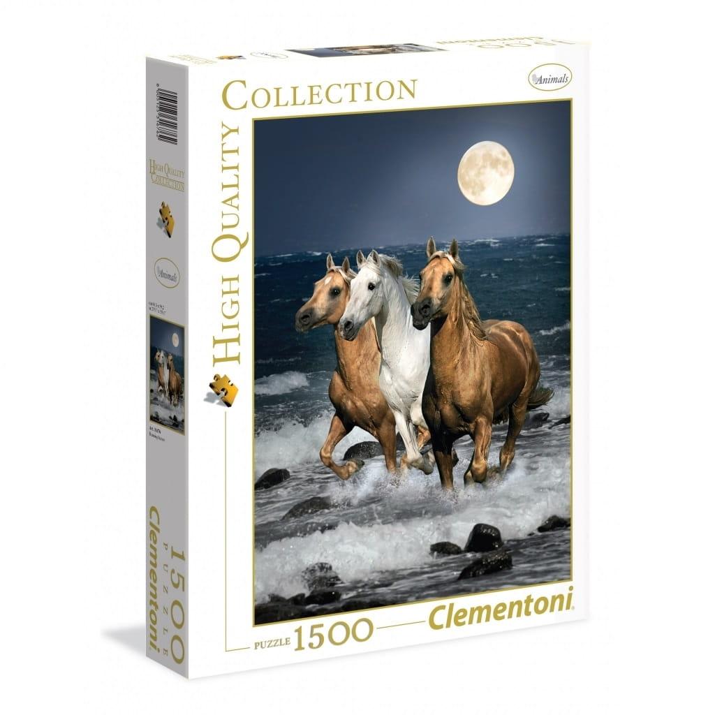 Пазл Clementoni 31676 Дикие лошади - 1500 элементов
