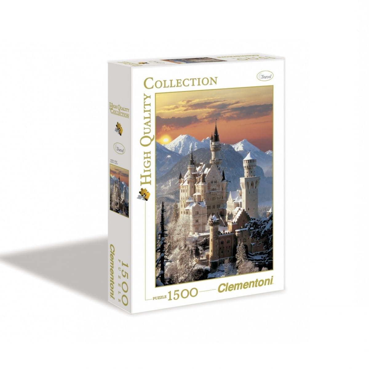 Пазл Clementoni 31925 Бавария Замок Нойшванштайн - 1500 элементов