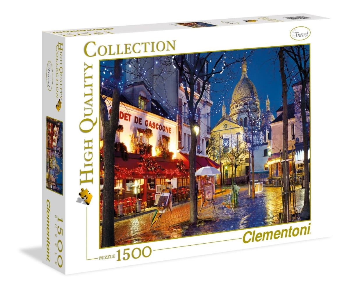 Пазл Clementoni 31999 Париж Монмарт - 1500 элементов