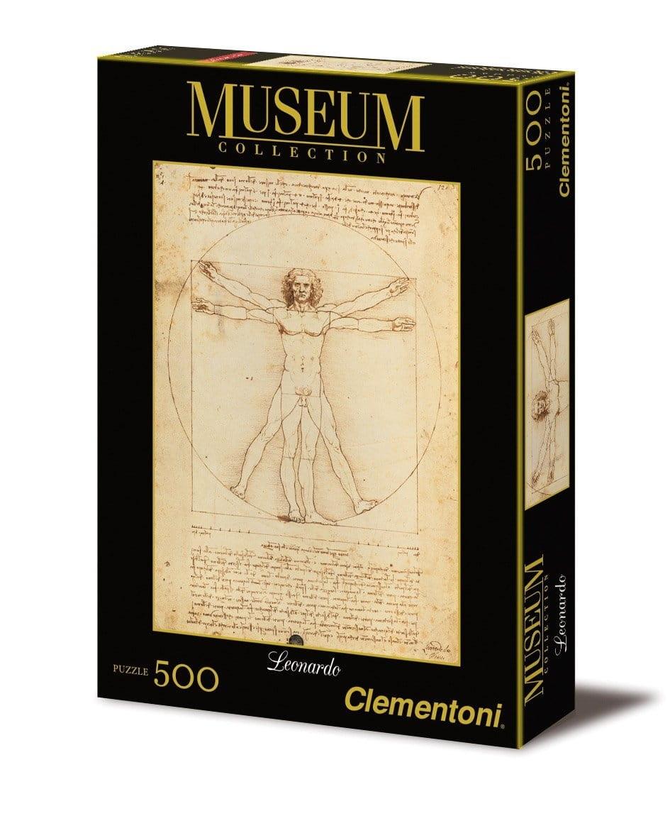 Пазл Clementoni 35001 Музей Витрувианский человек - 500 элементов