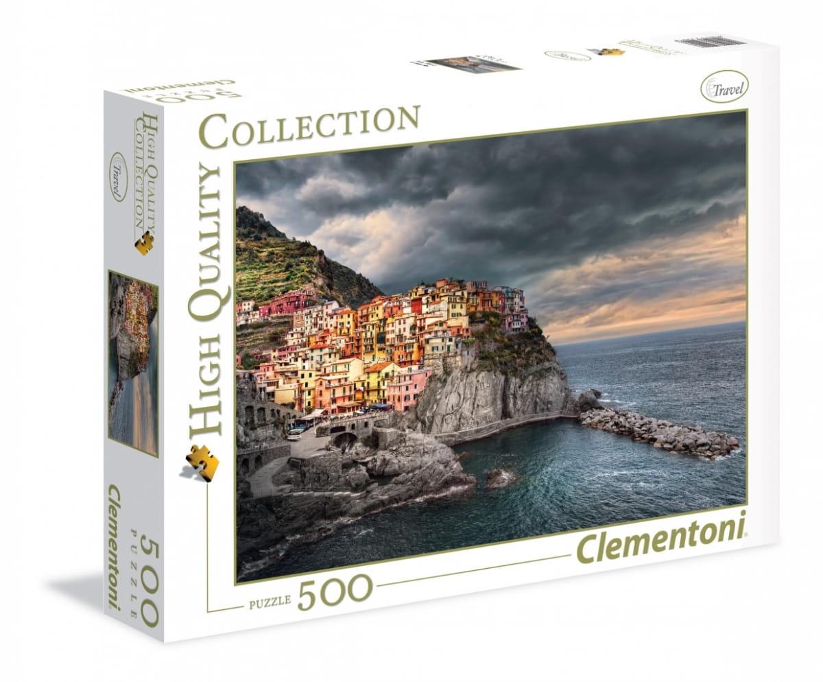 Пазл Clementoni 35021 Манарола Италия Город на скале - 500 элементов