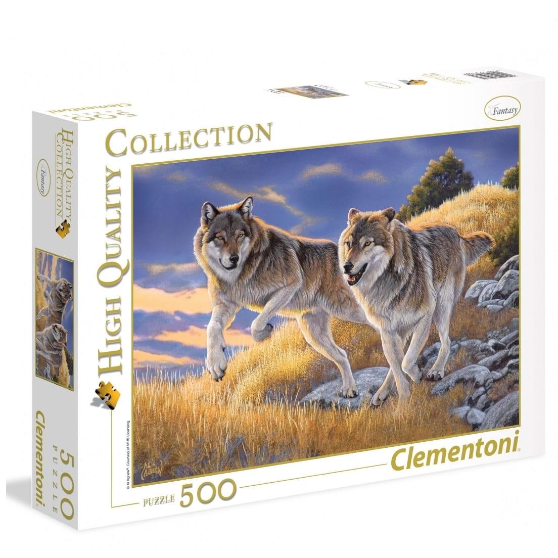 Пазл Clementoni 35033 Волки - 500 элементов