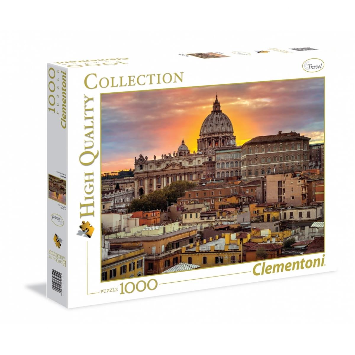 Пазл Clementoni 39341 Вечерний Рим - 1000 элементов