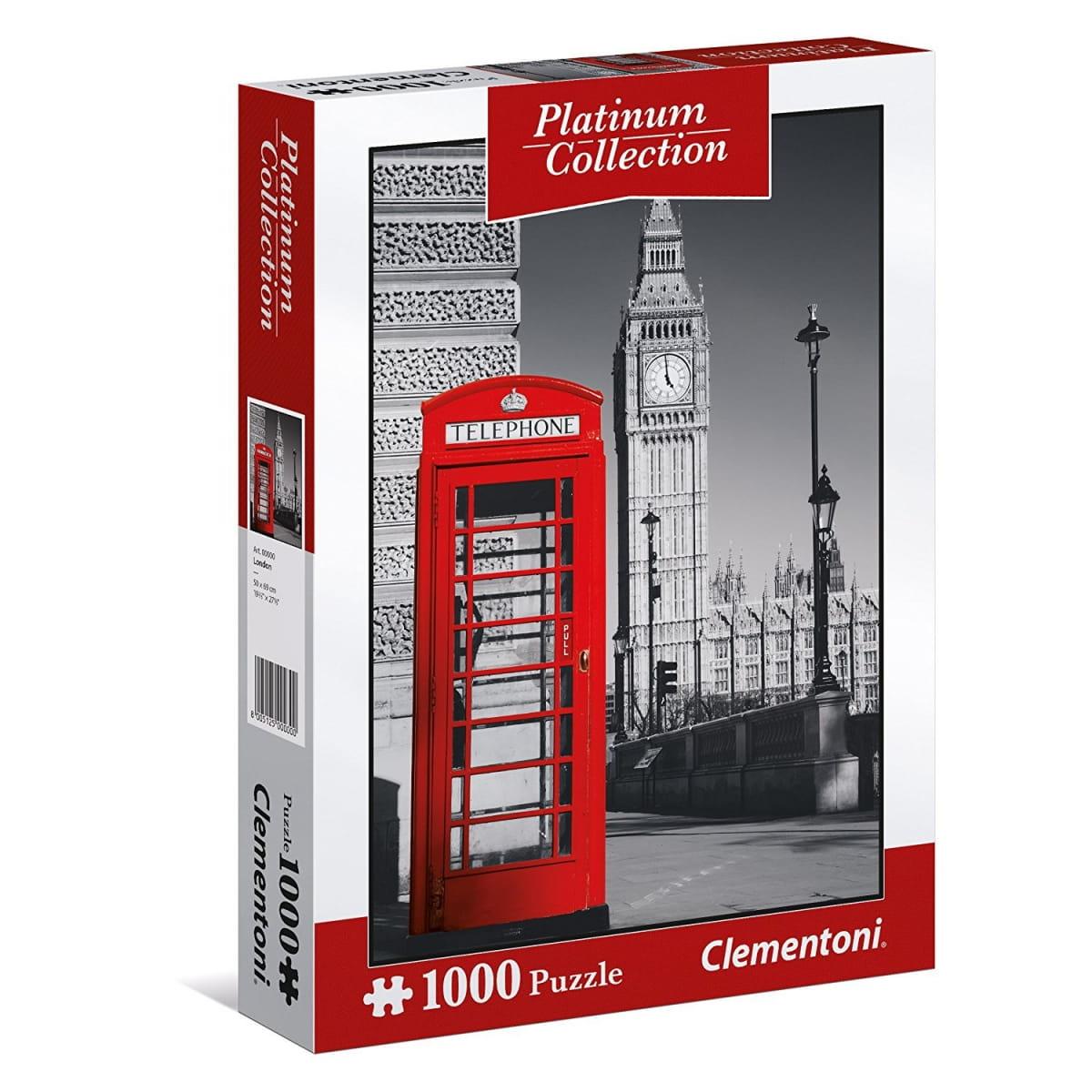 Пазл Clementoni 39397 Платиновая коллекция Лондон - 1000 элементов