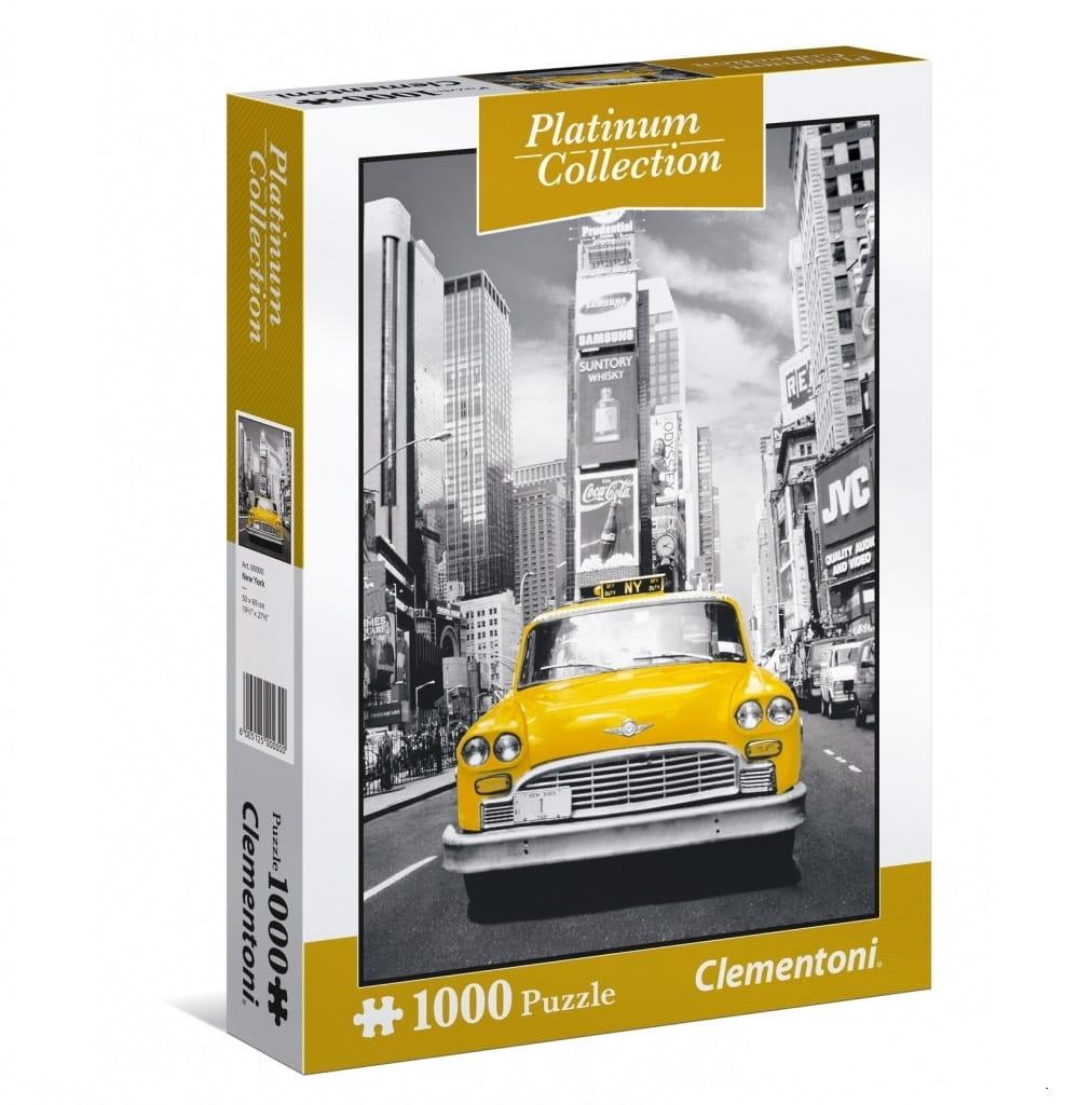 Пазл Clementoni 39398 Платиновая коллекция Нью-Йорк - 1000 элементов