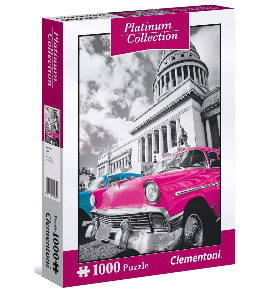 Пазл Clementoni 39400 Платиновая коллекция Куба - 1000 элементов