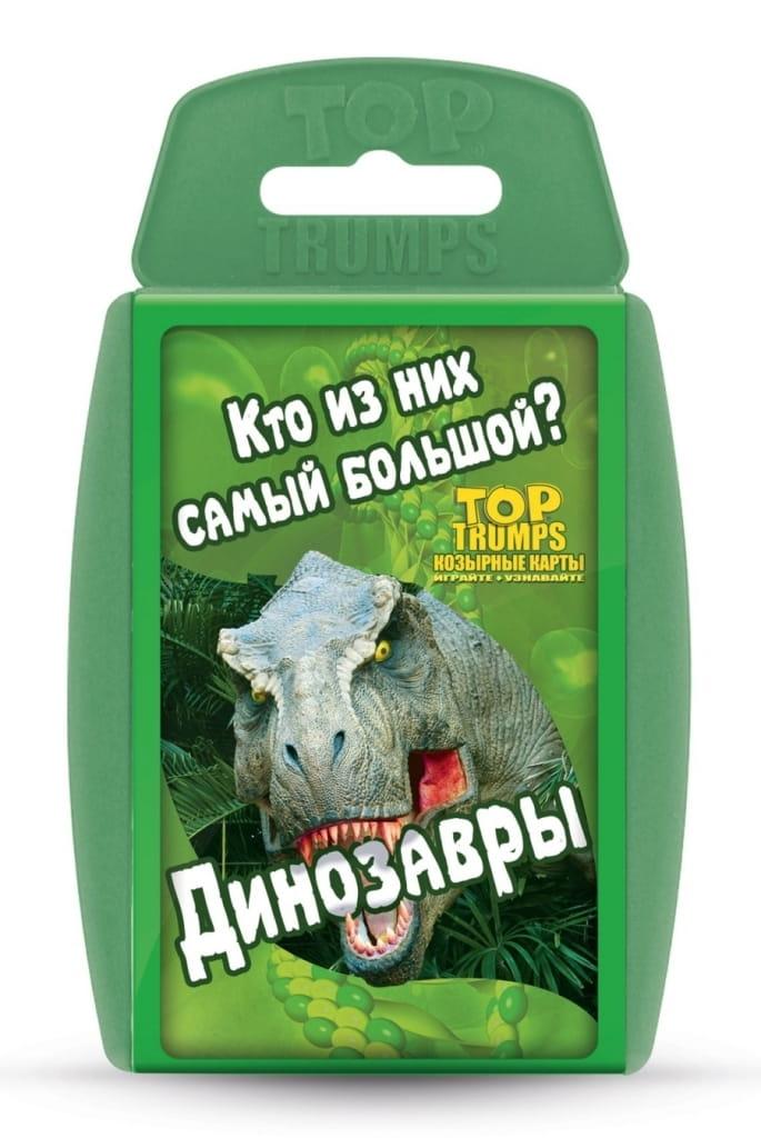 Настольная игра Top Trumps 38007 Динозавры