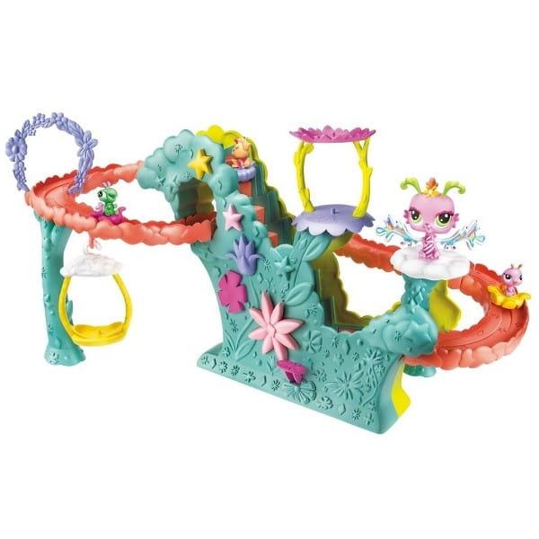 Купить Игровой набор Littlest Pet Shop Школа полетов (Hasbro) в интернет магазине игрушек и детских товаров