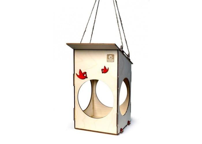 Деревянный конструктор Lemmo 0019 Кормушка для птиц