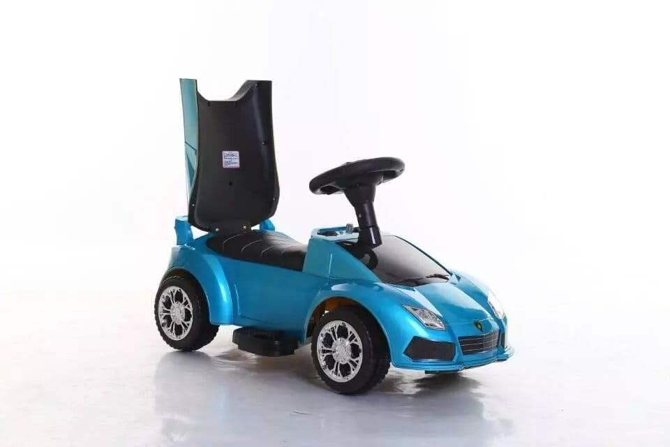Электромобиль VIP Toys HQBB5888_голубой Lamborgini - голубой металлик