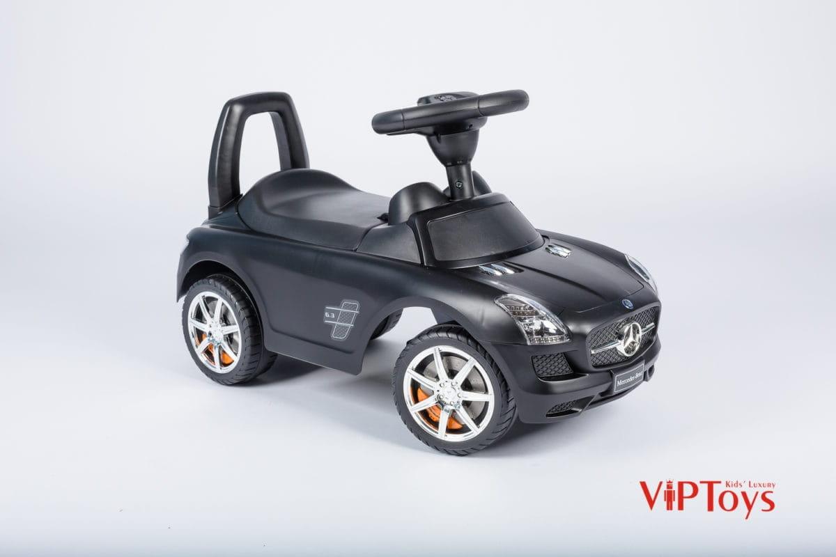 Каталка-автомобиль VIP Toys 332p_Мерседес_черная Mercedes-Benz 332(P) - черная
