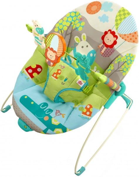Купить Кресло-качалка Bright Starts Забавные джунгли в интернет магазине игрушек и детских товаров