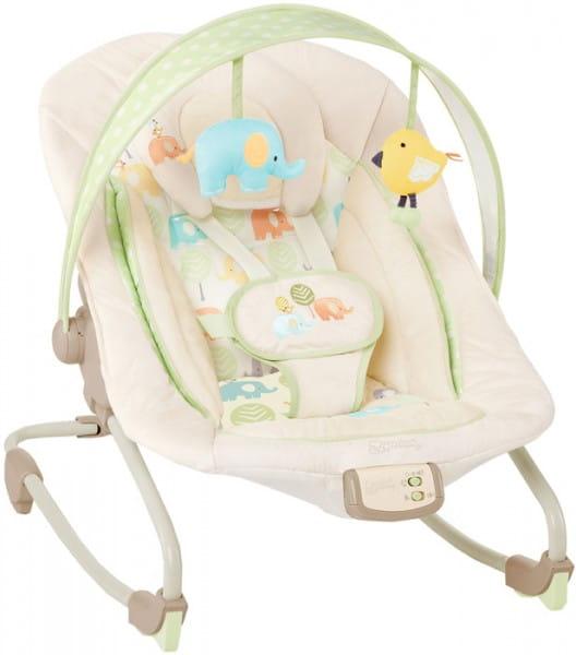 Купить Кресло-качалка Bright Starts Комфорт и гармония Друзья малыша в интернет магазине игрушек и детских товаров