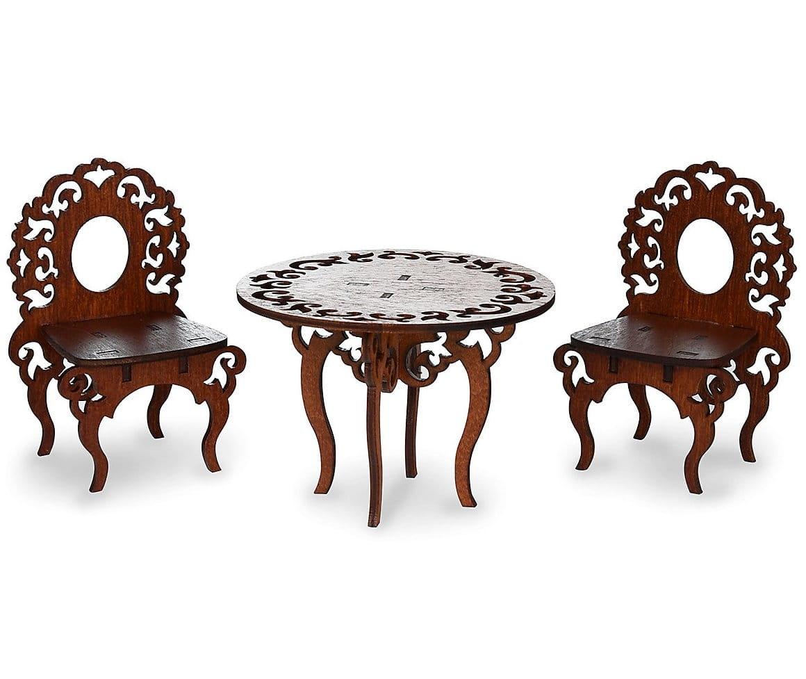 Набор мебели Одним Прекрасным Утром Стол и два стула