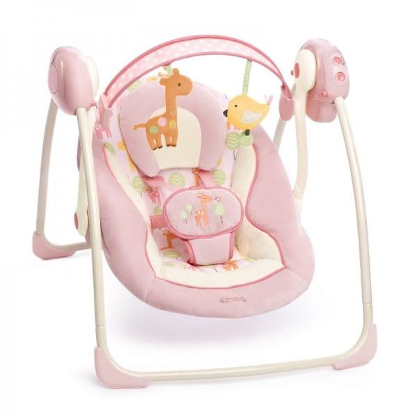 Купить Качели Bright Starts Комфорт и гармония Рассвет в саванне в интернет магазине игрушек и детских товаров