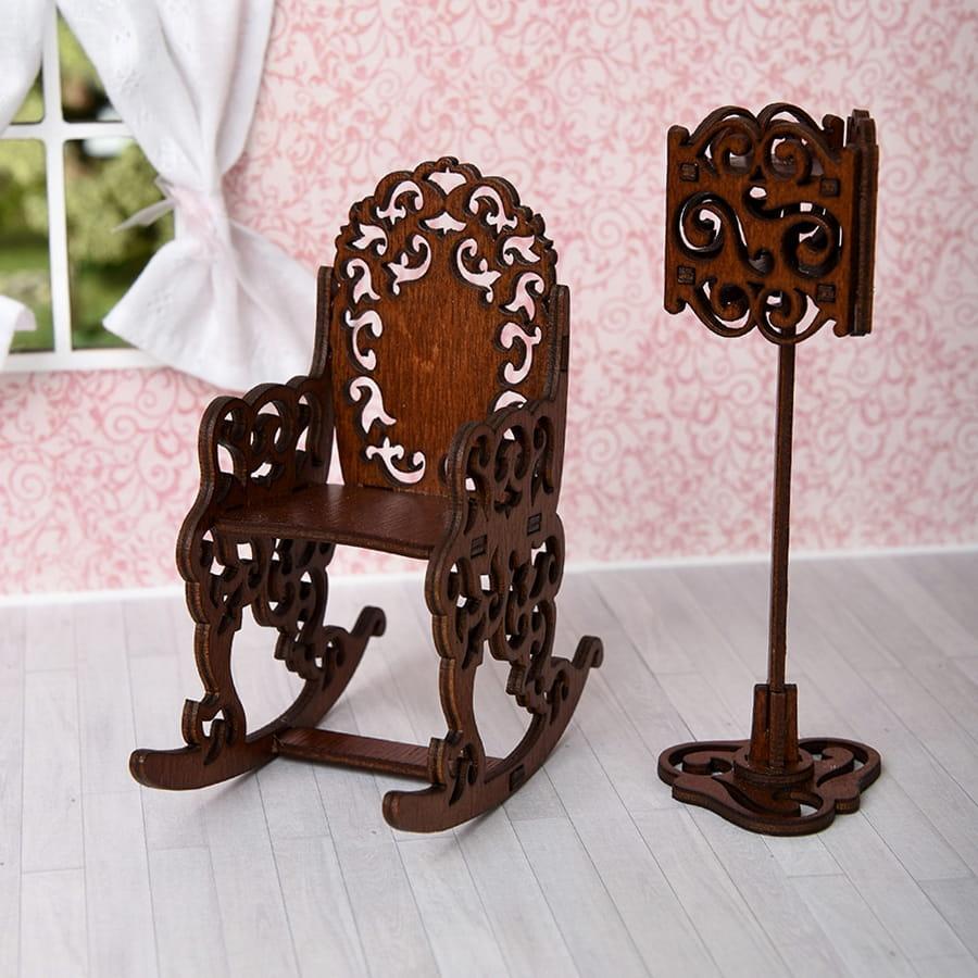 Набор мебели Одним Прекрасным Утром Качалка и торшер