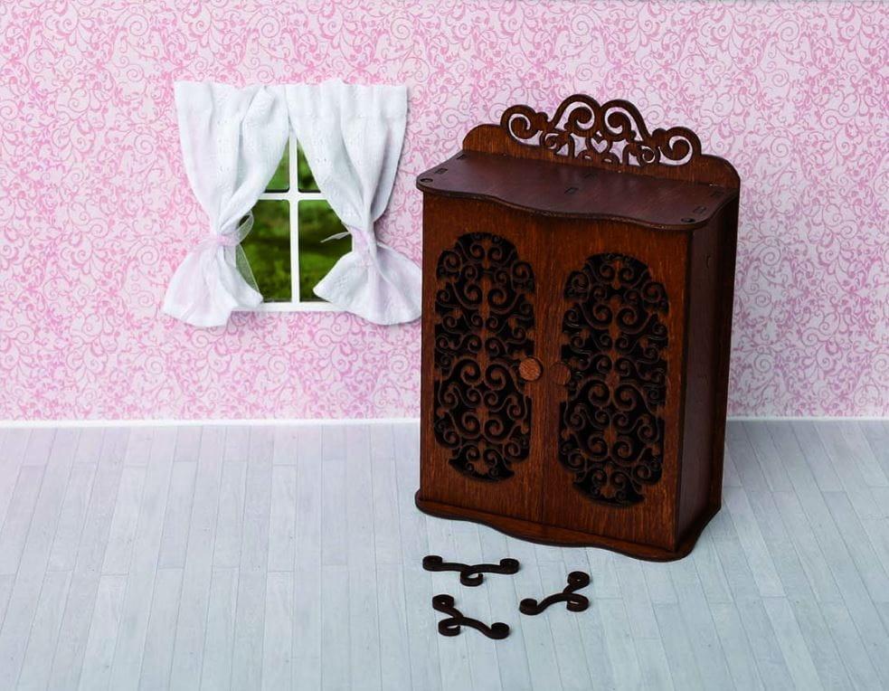 Набор мебели Одним Прекрасным Утром Шкаф для спальни с двумя дверцами и 3-мя вешалками