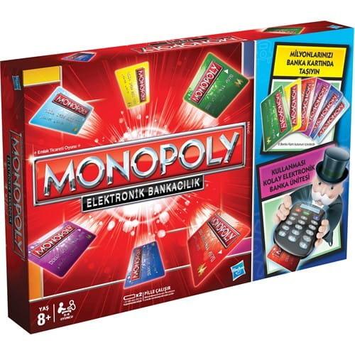Купить Настольная игра Hasbro Монополия с банковскими карточками в интернет магазине игрушек и детских товаров