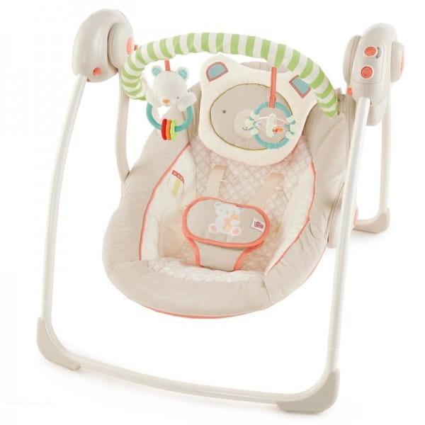 Купить Качели Bright Starts Мишка в интернет магазине игрушек и детских товаров