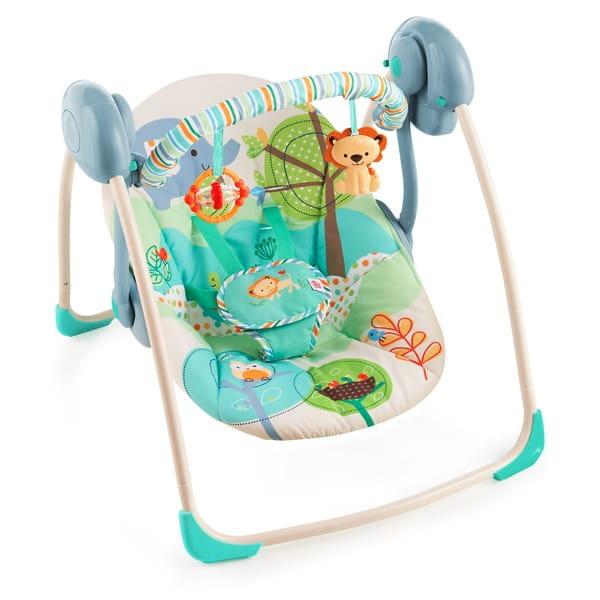 Купить Качели Bright Starts Прогулка по саванне в интернет магазине игрушек и детских товаров