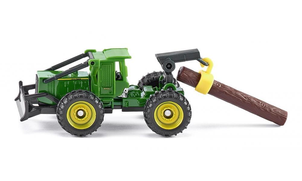 Трелевочный трактор Siku John Deere